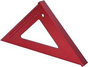 مقاوم للصدأ مخطط مثلث مسطرة، أدوات القياس والتخطيط، الأدوات اليدوية المهنية للوازم النجار أدوات البناء