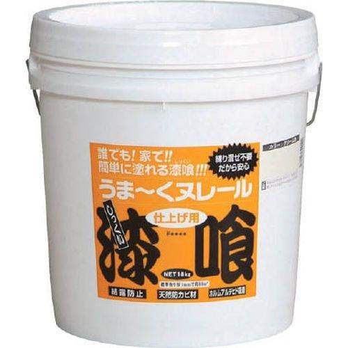 日本プラスター うま~くヌレール 18kg クリーム色 12UN22 (クリームイロ)