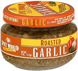 Spice World Roasted Minced Garlic