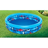 Haizhilan Children's 3 Ring Swim Pool (Multicolour)