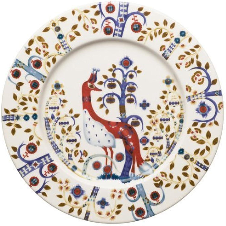 Iiittala Taika Porcelain 8.75  Salad Plate in blanc by Iitala