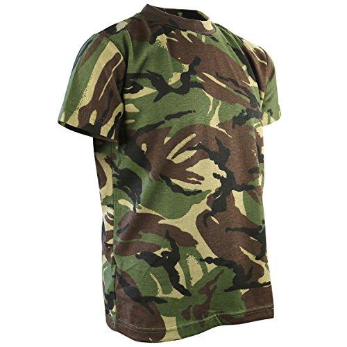 Kombat UK Kinder T-Shirt, DPM Camo, 9-11 Jahre