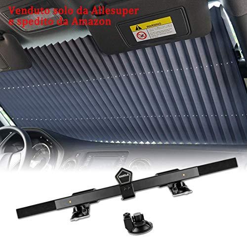 Parasole per Parabrezza, Parasole Auto Parabrezza Retrattile Parasole per la Parabrezza Anteriore per Proteggere Il Cruscotto della Vostra Auto dai Ra