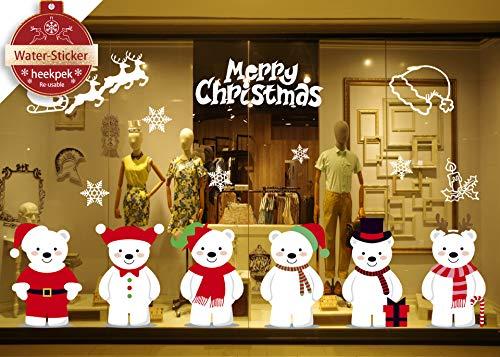 Heekpek Navidad Decoración Pegatinas Pared