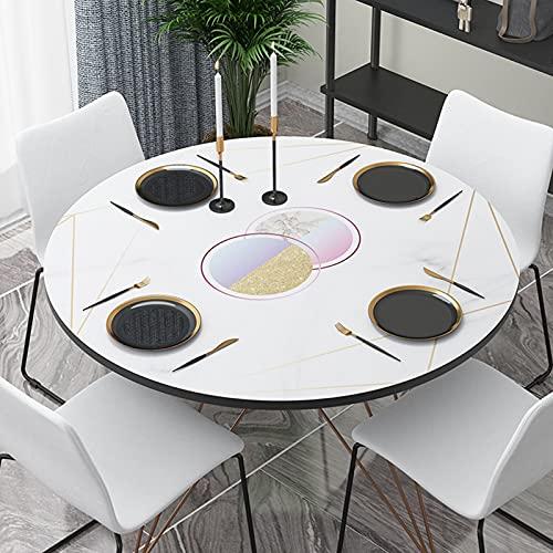 Limpie El Mantel Limpio, El Mantel Impermeable, Mantel De Cuero Impermeable Y A Prueba De Aceite, Utilizado para Restaurante Familiar, Fiesta, Buffet, Picnic,I,110CM