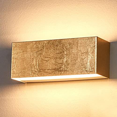 Applique a LED 'Quentin' (Moderno) colore Oro, in Metallo ad es. Corridoio (1 luce, lampadina inclusa) di Lindby   applique a LED, applique
