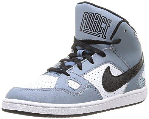 Nike 615161 009 - Zapatos para niños, Color Mehrfarbig (MGNT Grey/blck-Wht-mtllc slvr), Talla 28.5