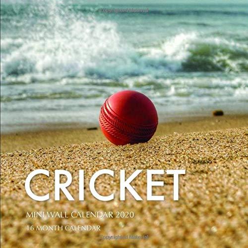 Cricket 7 x 7 Mini Wall Calendar 2020: 16 Month Calendar