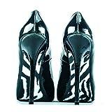 """shoe-tattoo""""Zebra""""- Muster: Zebra schwarz-weiß"""