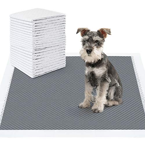 NOYAL Dog Pee Pads, Odor-Control Carbon Puppy Training Pads Super Absorbent & Leak-Proof Dog Potty Training Pads with Quick Drying Surface