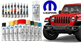 Mopar Dodge RAM Chrysler Jeep 1-C Clear Top Coat Touch Up Spray Paint New OEM