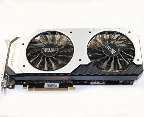 Palit Super Jetstream GTX980TI NVIDIA Grafikkarte (PCI-e 6GB GDDR5 DVI)