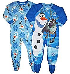 Olaf Footed Pajamas for Boys