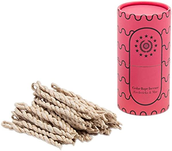Fredericks And Mae Cedar Rope Incense 50 Ropes