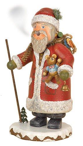 Räuchermann - Winterkind Weihnachtsmann - 20cm - Original Erzgebirge Räuchermann - Hubrig Volkskunst