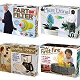 Prank Pack (4 pack) - Wrap Your Real Holiday Gift in a Prank Funny Gag Joke Gift Box - by Prank-O - The Original Prank Gift Box | Awesome Novelty Gift Box for Any Adult or Kid!