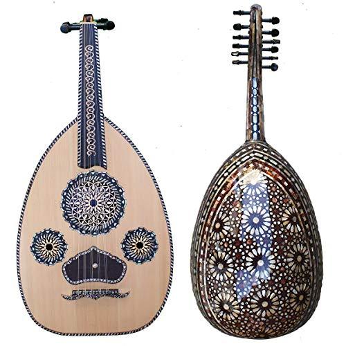 Sublime Oud Ägyptischer Perlmutt Theemim - Orientalische Musik, arabische Luth - Orientsound