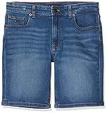 Tommy Hilfiger Rey Rlxd Tapered Short Ocfmbst, Azul (Océano Surf Blue Stretch 1ba), Talla Única (Talla del Fabricante: 74) para Niños