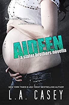 AIDEEN: Slater Brothers Book 3.5 by [L.A. Casey, JaVa Editing]