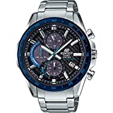 Casio Mens Analogue Classic Solar Powered Watch with Stainless Steel Strap EFS-S540DB-1BUEF