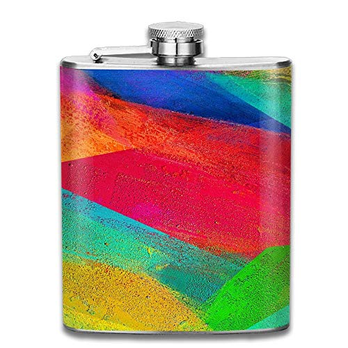 Colorful Wallpaper Gifts Top Shelf Flasks Stainless Steel Flask