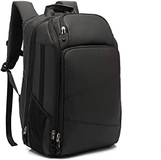 Men Laptop Backpack 15.6 Inch Fashion Computer Backpack Water-Repellent Casual Daypack with USB Charging Port for Travel Business College