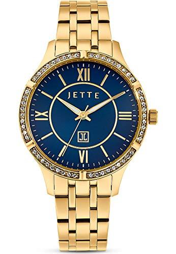 JETTE Time Damen-Uhren Analog Quarz One Size Gold 32013688