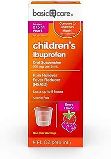 Basic Care Children's Ibuprofen Oral Suspension, 8 Ounce