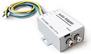 Autoradio Audio Sprachsignal Hi Low Wandler Konverter für Auto Apm Subwoofer Verstärker CD Player Hoch zu Niedriger Adapter