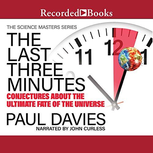 The Last Three Minutes audiobook cover art