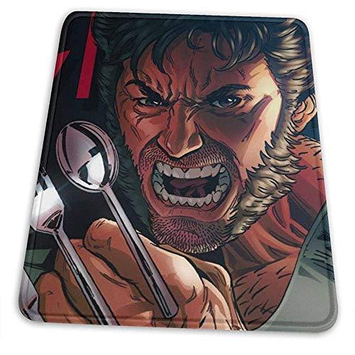 Wolverine Lepel Klauwen Gaming Muis Mat Pad Unieke Aangepaste Mousepad Computer Toetsenbord gestikte randen Office Ideaal voor Bureau Cover Grote Muis Pats Laptop en PC
