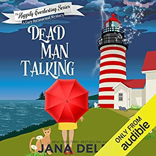 Dead Man Talking: A Cozy Paranormal Mystery audiobook cover art