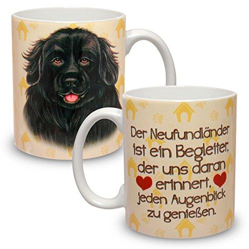 Kaffeebecher mit Motiv Hund Große XXL Tasse Neufundländer
