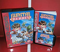 Value-Smart-Toys - MD games card - Gunstar Heroes US Cover with Box and Manual For Sega Megadrive Genesis Video Game Console 16 bit MD card