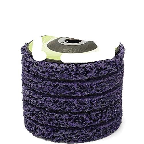 Amoladora Rueda Revestimiento de pintura Tira de eliminación de óxido Removedor de disco Accesorios de amoladora angular 100 * 16 mm-Francia
