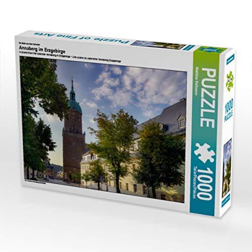 CALVENDO Puzzle Annaberg im Erzgebirge 1000 Teile Lege-Größe 64 x 48 cm Foto-Puzzle Bild von Matthias Bellmann