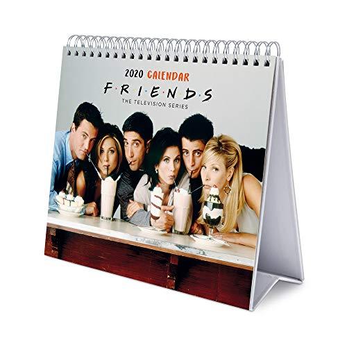 ERIK - Calendario de Escritorio Deluxe 2020 Friends (17x20 cm)