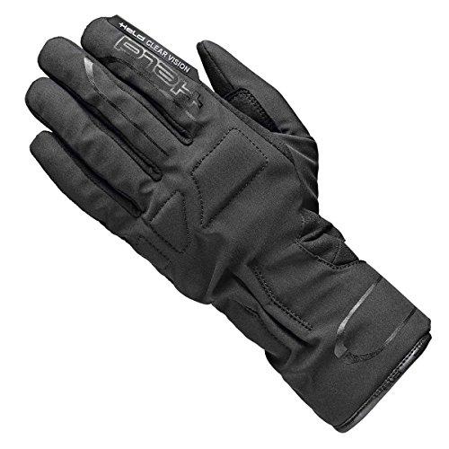 Held Toeno Motorradhandschuh, Farbe schwarz, Größe 10