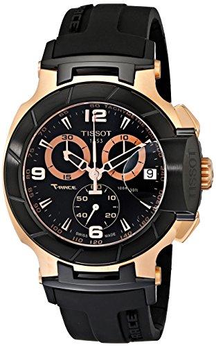 Tissot T-Race Rose Gold Men's 45mm Chronograph Automatic Watch T0484172705706