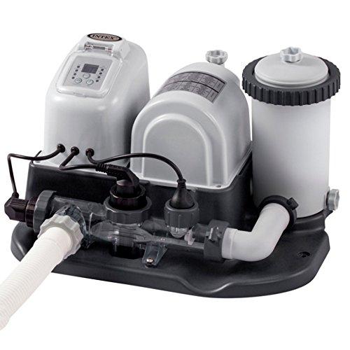 Intex - Combo depuradora cartucho + cloracion salina eco 26.500 litros (28674)