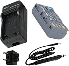 Battery + Charger for JVC Everio GZ-MG630, GZ-MG630AU, GZ-MG630RU, GZ-MG630SU Camcorder