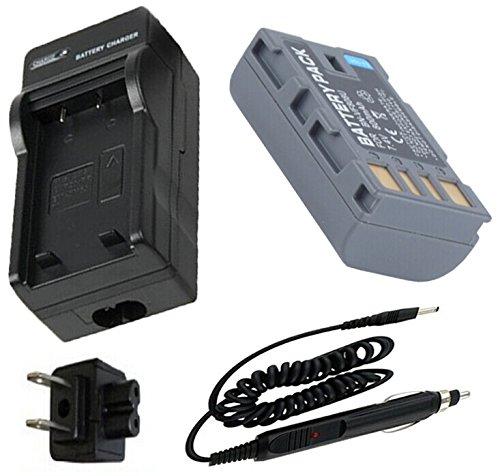 Battery + Charger for JVC Everio GZ-MG130U, GZ-MG230U, GZ-MG330U Camcorder