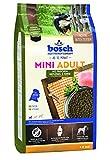 bosch HPC Mini Adult mit frischem Geflügel & Hirse | Hundefutter für ausgewachsene Hunde kleiner Rassen | Glutenfrei | 1 kg