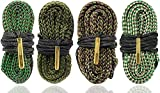 Big Country Wholesale 4 Pack of Cobra Bore Snakes for .223 .22 5.56 9mm .357 .38 .380 .308 30-06 .300 30-30 .44 and .45 Caliber Weapons | Clean Your Gun Quick Simple and Easy