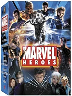 Marvel Heroes Collection: (Daredevil/Elektra/X-Men/ X2/X-Men 3: The Last Stand/ Fantastic Four & Fantastic Four: Rise of the Silver Surfer)