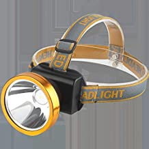 Led-koplamp, zaklamp, helderste koplamp voor kamperen, wandelen, hardlopen, jagen en wandelen