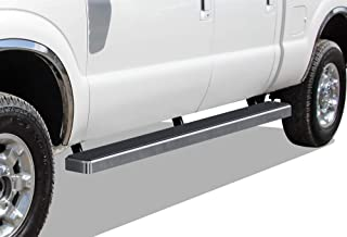 APS iBoard Running Boards 5 inches Custom Fit 1999-2016 Ford F250 F350 Super Duty Crew Cab (Nerf Bars Side Steps Side Bars)