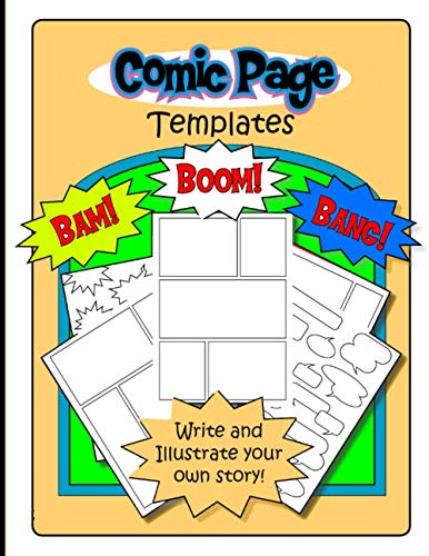 #3 Blank Comic Drawing Book For Boys Ages 9-12 - Draw Your Own Comics - 102 Pages of Fun: Strip Writing Cartoons Journal | Manga Notebook Template | ... #3Blank Comic Drawing Book For Boys Ages 9-12