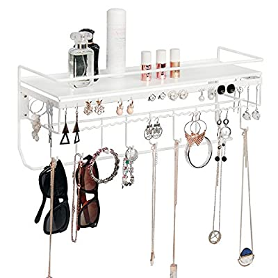 JackCubeDesign MK238- Wall Mount Jewelry Organizer