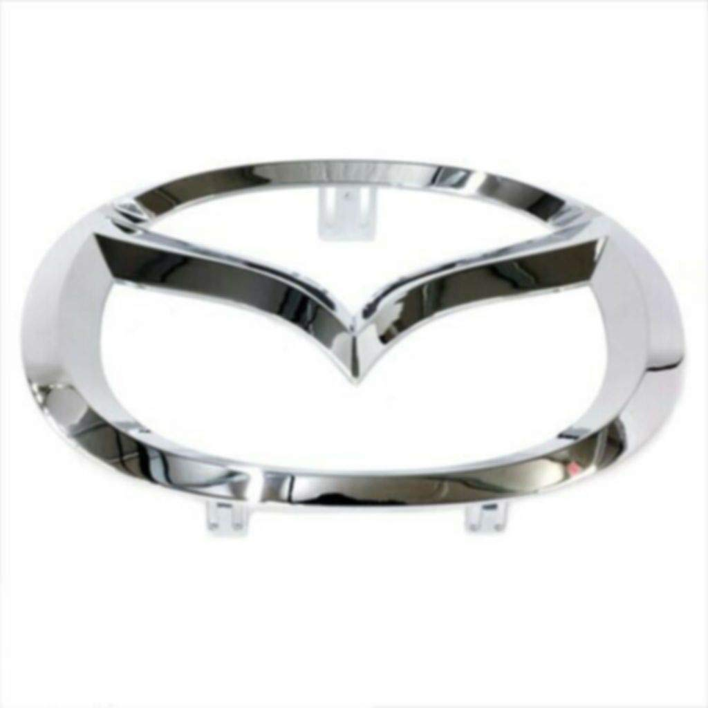 Free Shipping New Quality 2008-2015 Маzdа 5 Front Bumper Mascot ЕmbIеm Chrome Award
